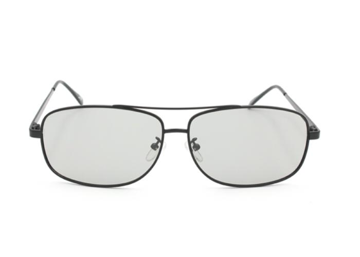 Gafas 3D con marco de metal polarizado circular