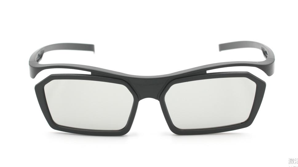 Gafas 3D polarizadas de plástico